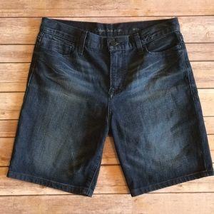 """Calvin Klein Jean Shorts, 8"""" Inseam- Size 26"""